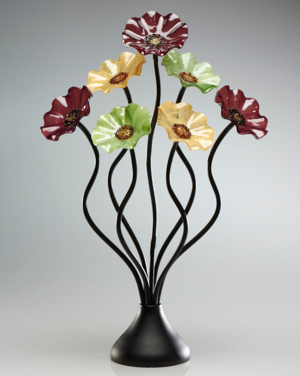 7 Flower Aspen 182 - Glass Flowers by Scott Johnson