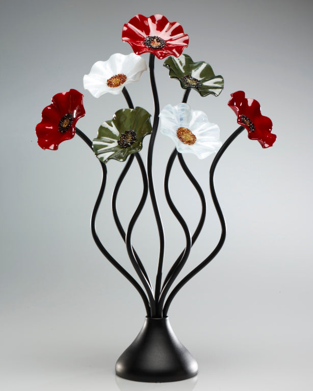 7 Flower holiday - Glass Flowers by Scott Johnson