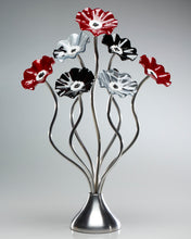 Load image into Gallery viewer, 7 Flower Black Cherry - Glass Flowers by Scott Johnson