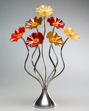 Load image into Gallery viewer, 7 Flower Tuscany - Glass Flowers by Scott Johnson