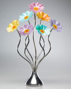 7 Flower Monsoon - Glass Flowers by Scott Johnson