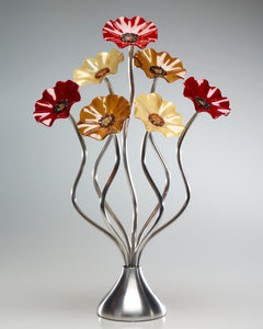 7 Flower Chicago - Glass Flowers by Scott Johnson