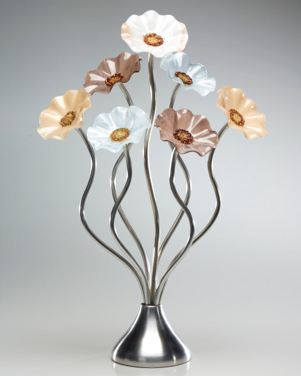 Load image into Gallery viewer, 7 Flower Lincolnshire - Glass Flowers by Scott Johnson