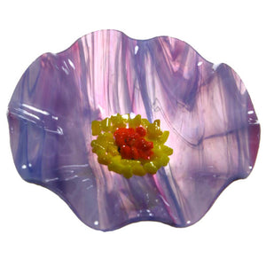 Lilac Replacement Flower - Glass Flowers by Scott Johnson