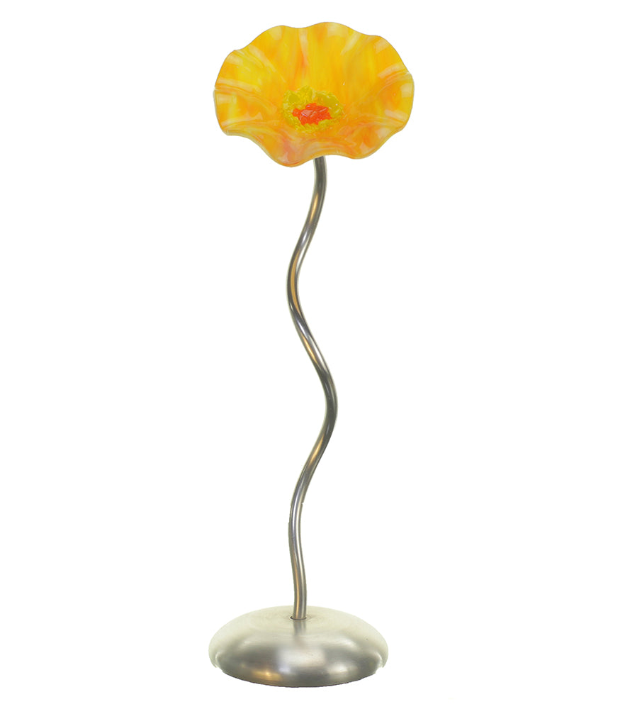 Single Stem - Sunrise - Glass Flowers by Scott Johnson