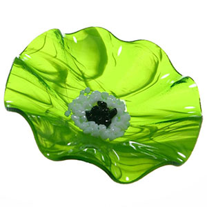 Moss Replacement Flower - Glass Flowers by Scott Johnson