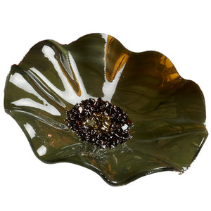 Olive Replacement Flower - Glass Flowers by Scott Johnson