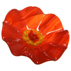 Orange Replacement Flower - Glass Flowers by Scott Johnson