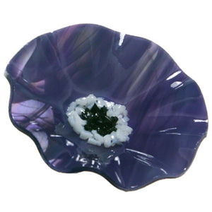Purple Replacement Flower - Glass Flowers by Scott Johnson