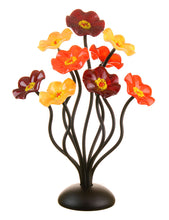 Load image into Gallery viewer, 9 flower Autumn - Glass Flowers by Scott Johnson