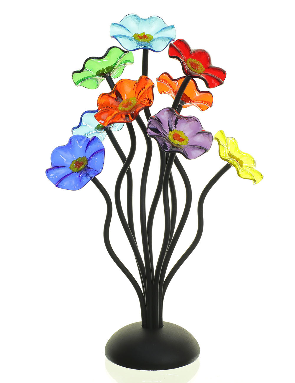 9 flower Prism - Glass Flowers by Scott Johnson