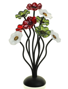 9 flower holiday - Glass Flowers by Scott Johnson
