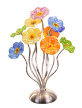 Load image into Gallery viewer, 9 flower Pastel - Glass Flowers by Scott Johnson