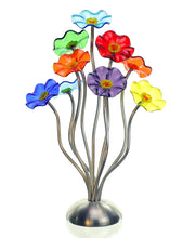Load image into Gallery viewer, 9 flower Prism - Glass Flowers by Scott Johnson