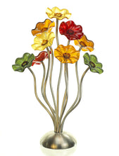 Load image into Gallery viewer, 9 flower Breckenridge - Glass Flowers by Scott Johnson