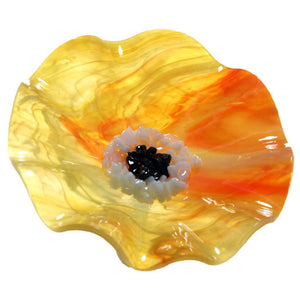 Sunrise Replacement Flower - Glass Flowers by Scott Johnson