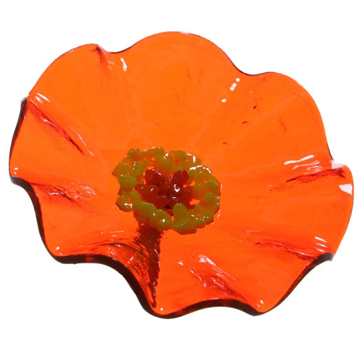 Trans Orange Replacement Flower - Glass Flowers by Scott Johnson