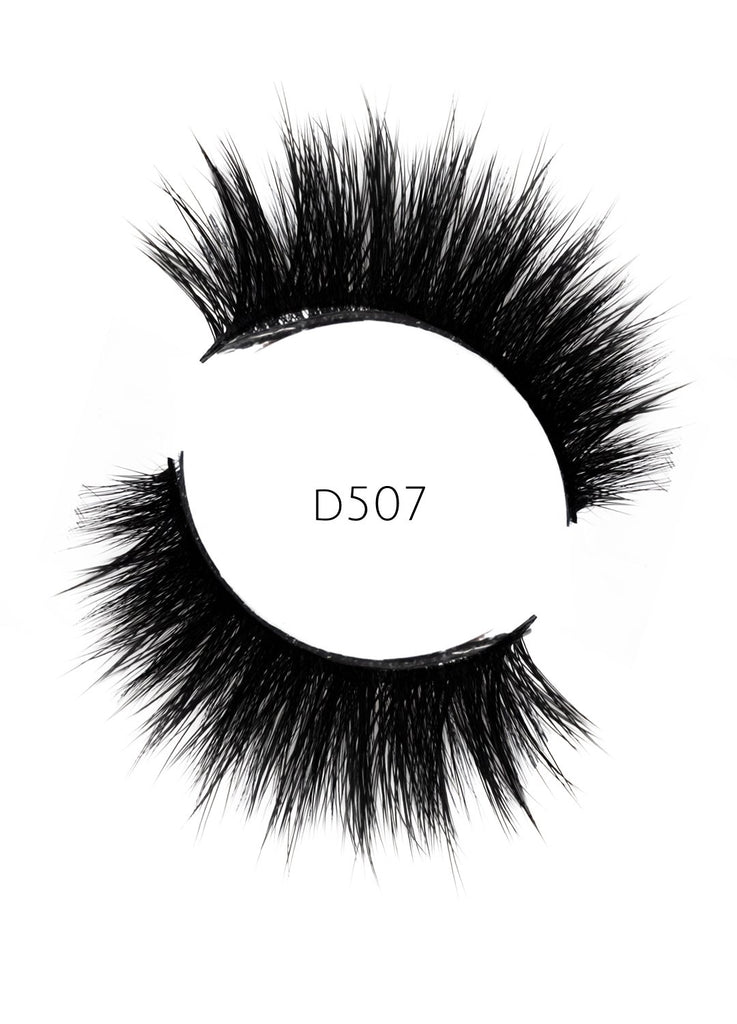 5D 07 Luxury Mink Strip Lashes (Vegan)