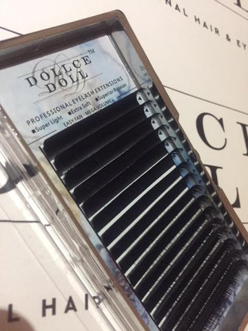 0.03 Easy Smart Fan Russian Mega Volume Cashmere Lashes (16 lines)
