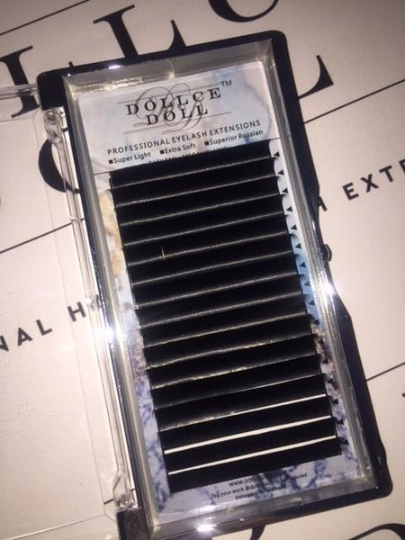 0.07 Easy Fan Russian Volume Cashmere Lashes (16 lines)