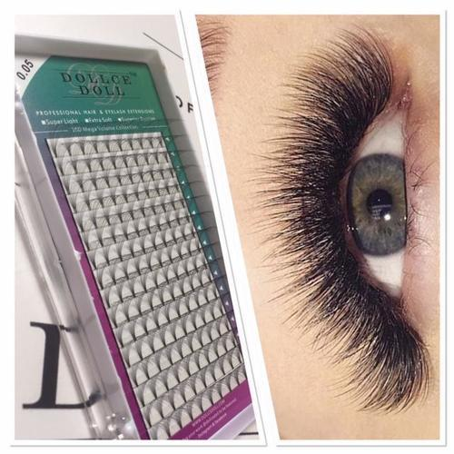 10D Pre Made Russian Fan Lashes