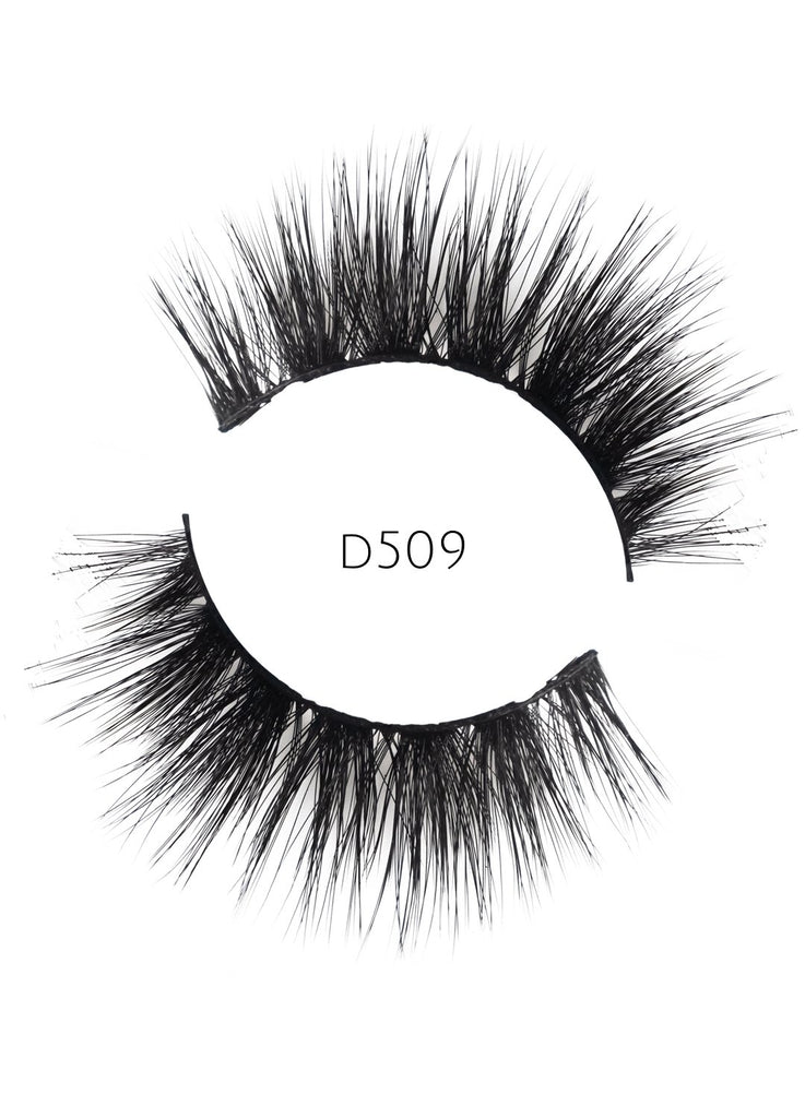 5D 09 Luxury Mink Strip Lashes (Vegan)