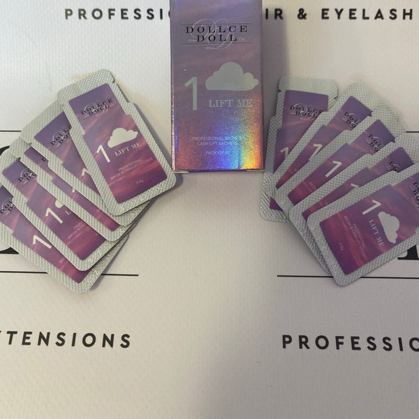 (STEP 1) RAPID LASH/BROW LIFT, ONE SHOT SACHETS