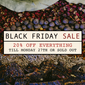 BLACK FRIDAY SALE - 20% OFF EVERYTHING