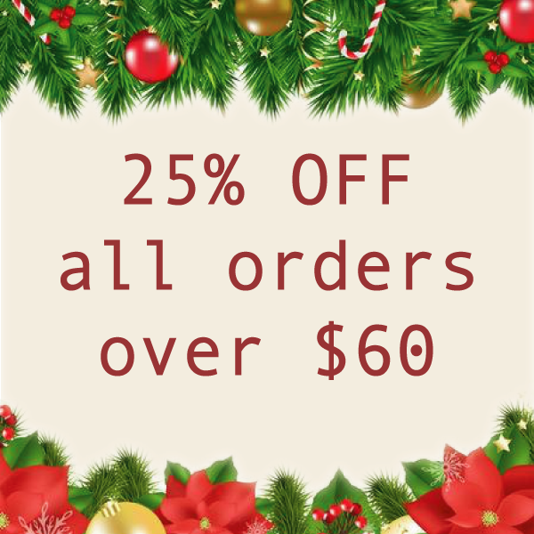 25% OFF ALL JERKY ORDERS OVER $60