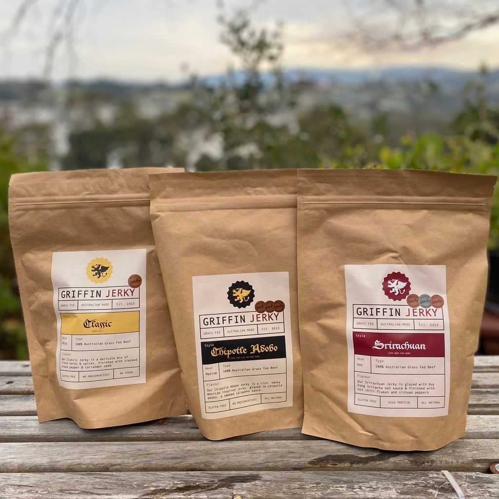 Griffin Jerky Bulk Bags back in stock!
