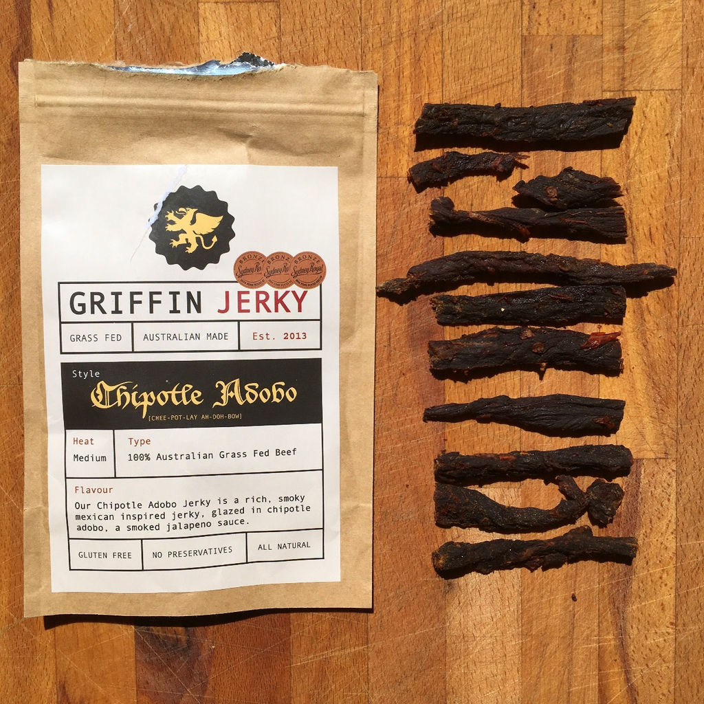 GRIFFIN JERKY IS NOW EASIER TO EAT WITH OUR NEW SLICING STYLE