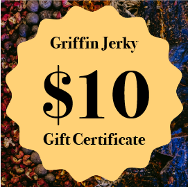 Gift Certificates - Griffin Jerky