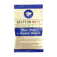 Beer Nuts & Smoked Almonds - Griffin Jerky