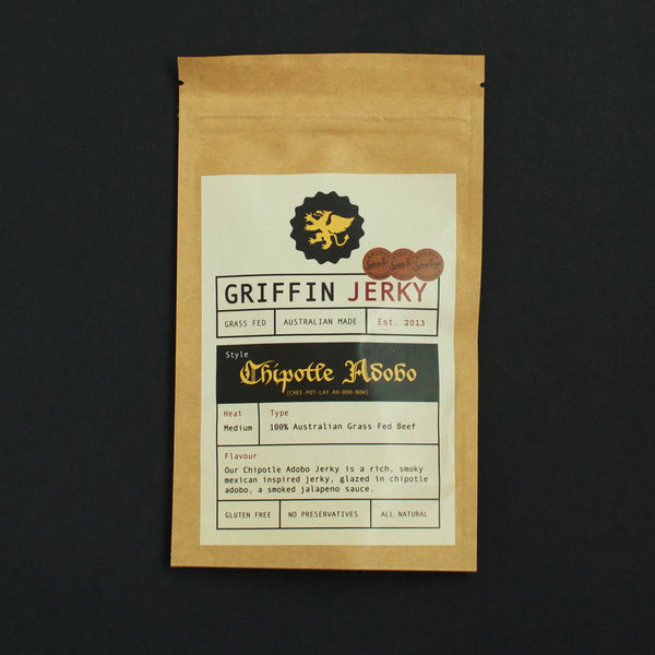 Griffin Jerky Chipotle Adobo