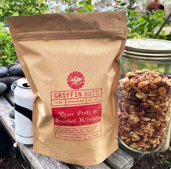 Beer Nuts & Smoked Almonds - 1kg Pack - Griffin Jerky