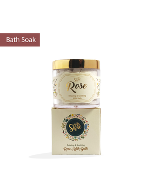 Rose Milk Bath Soak by Shae (75 gm) - Shae