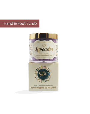 Lavender Hand & Foot Scrub by Shae (100 gm) - Shae