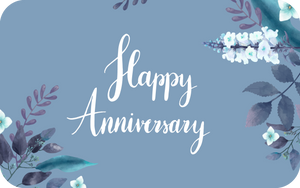 Happy Anniversary Gift Card - Shae