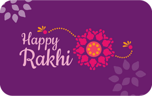 Happy Rakhi Gift Card - Shae