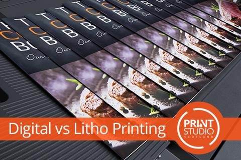 Digital vs Litho Printing