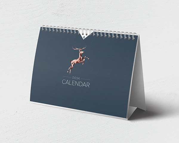 Desktop Wire Calendars