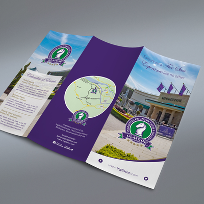 Ingliston Folded Leaflet Artwork
