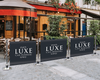 Luxe Cafe Barrier