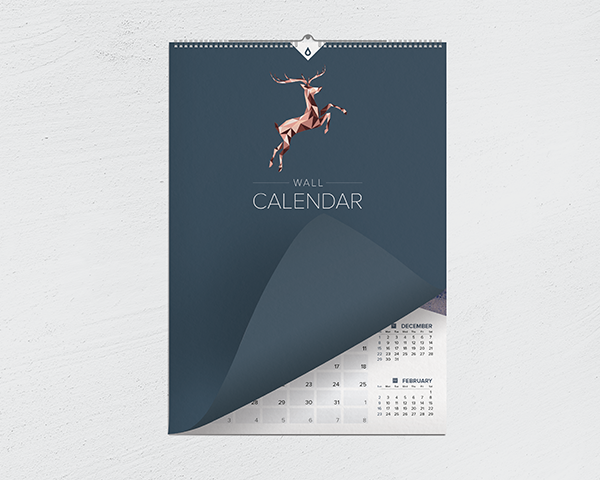 Wire Edge Wall Calendars