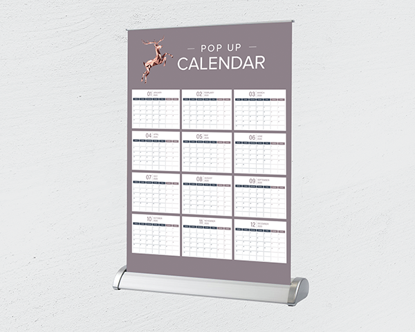 Pop Up Desk Calendars