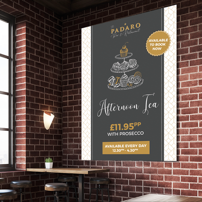 Afternoon Tea Poster Design