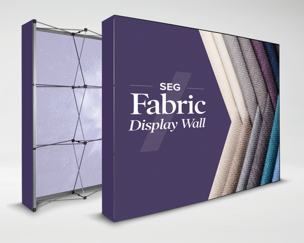 SEG Fabric Display Wall