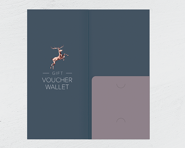 Gift Voucher Wallet with Pocket