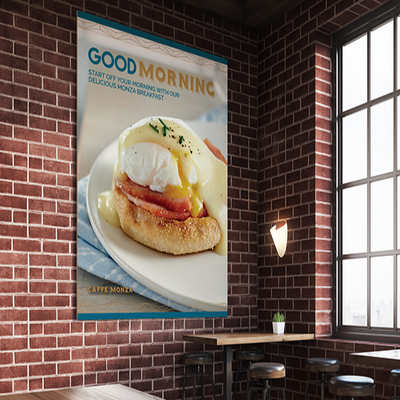 Breakfast Poster Design