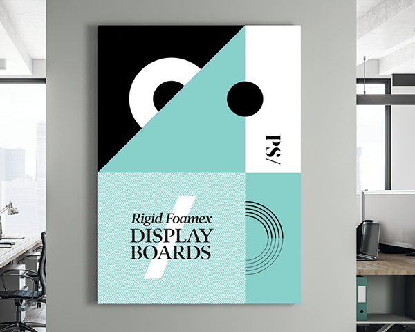 Foamex Display Boards